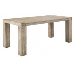 Eettafel Bassano L220xB100 acaciahout light grey