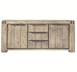 Dressoir Bassano acaciahout light grey