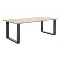 Eettafel Verato 160x95 natural grey