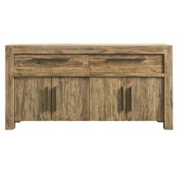 Dressoir Travi teak black wash