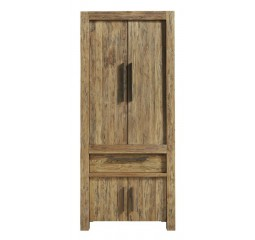 Opbergkast Travi teak black wash