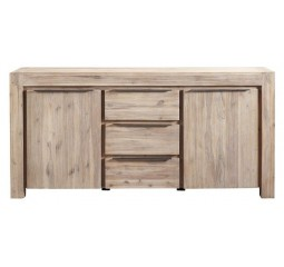 Dressoir Salzburg acaciahout smoke white brush