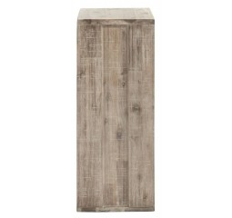 Pedestal Bassano H75 acacia light grey