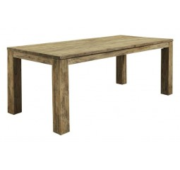 Eettafel Travi 190x95 teak black wash
