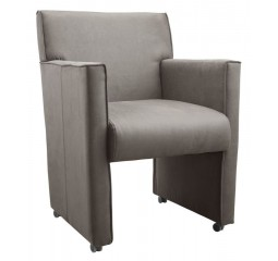 Eetfauteuil Veduno taupe