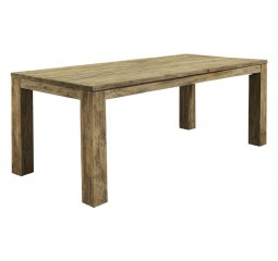 Eettafel Travi 220x100 teak black wash