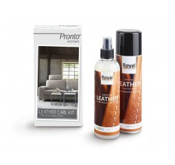 Brushed Leather Care Kit