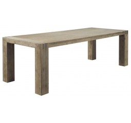 Eettafel 160x90 Bassano acaciahout light grey