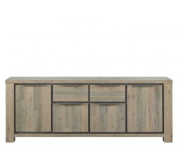 Dressoir Robusto (215 breedte) acaciahout vintage grey