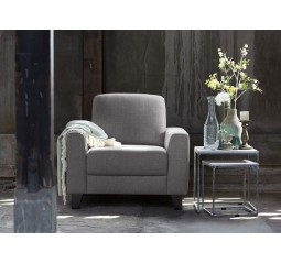 Fauteuil Mano polyether taupe