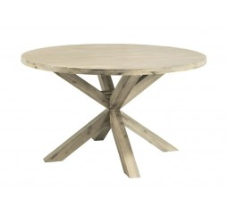 Ronde eettafel Bassano Ø140 light grey