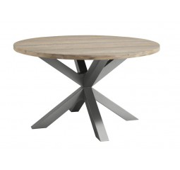 Ronde eettafel Robusto Ø140 light grey