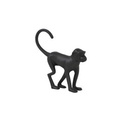 Ornament Scimmia monkey mat zwart