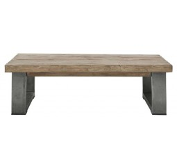 Salontafel Alezio massief grenen antique grey