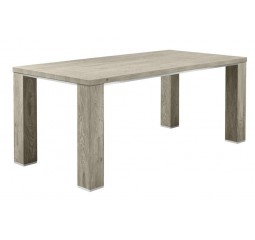 Eettafel Francisco L220xB100 eiken grey