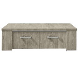 Salontafel Francisco L135xB67 eiken grey