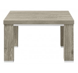 Hoektafel Francisco L67xB67 eiken grey