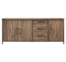Dressoir Romaro teakhout rough