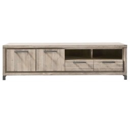 TV-Dressoir Accardi acaciahout ice grey