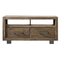 TV-Dressoir Alezio massief grenen antique grey