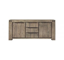 Dressoir Bassano acaciahout rough warm grey