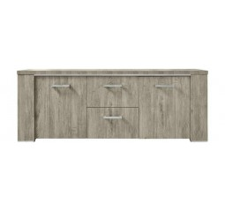 Dressoir Francisco melamine eiken grey