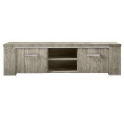 TV-Dressoir Francisco melamine eiken grey
