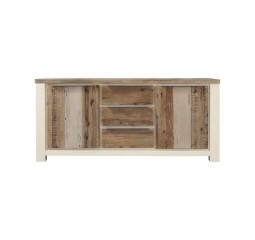 Dressoir Cortena acaciahout  vintage light