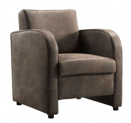 Fauteuil Abrusso donkerbruin