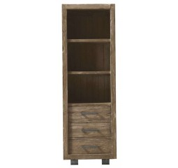 Boekenkast Alezio massief grenen antique grey