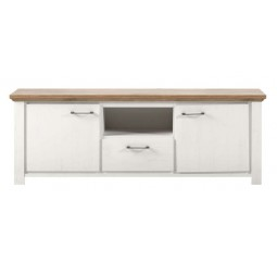 TV-Dressoir Duarte sterling oak pine white
