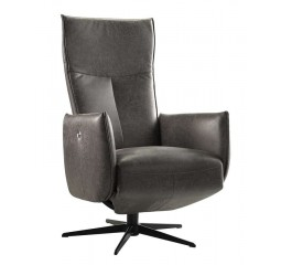 relaxfauteuil kamia medium antraciet