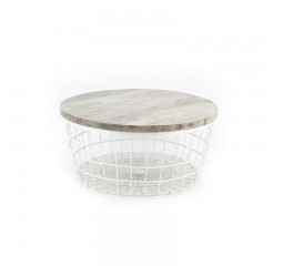 by-boo 1542 coffee table new glory white