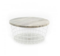 by-boo 1543 coffee table new glory white