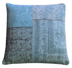 by-boo 6093 pillow patchwork turquoise
