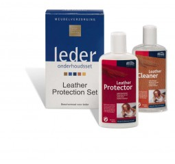 onderhoud leather protection set 2x150 ml