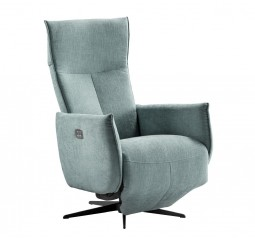 relaxfauteuil kamia large blauw