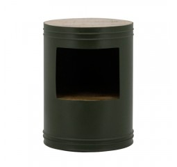 by-boo 1627 sidetable barrel green