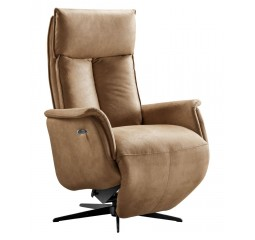relaxfauteuil elegance small cognac