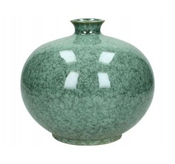 vaas ceramic green