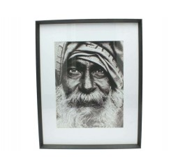 fotoframe wood black 40x50cm