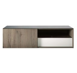 tv-dressoir melton fineer/grijs