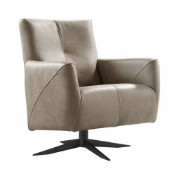 fauteuil minervo lage rug taupe