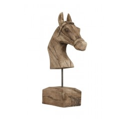 ornament horse wood