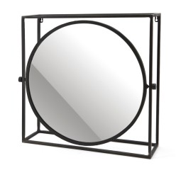 by-boo 0376 mirror in frame spiegel - round