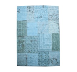 by-boo 6013 carpet patchwork 200x300 cm - turq.