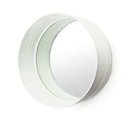 by-boo 0570 round mirror - white