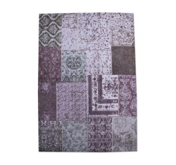 by-boo karpet patchwork 200x300cm paars