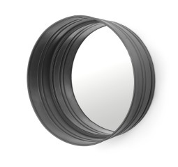 by-boo 0571 round mirror - black