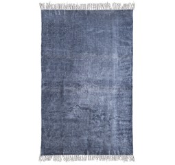 by-boo 6211 carpet mono 120x180 cm - blue